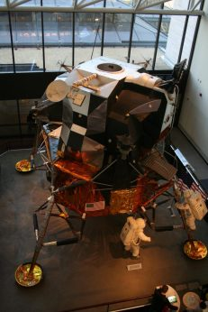 Smithsonian Moon Lander