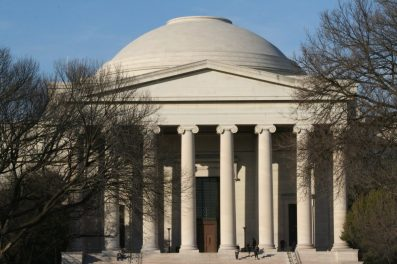 Smithsonian Natural History portico-dome