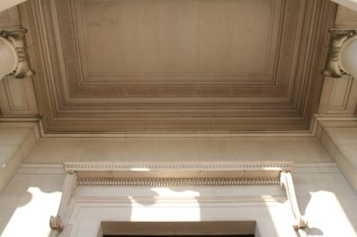 Smithsonian Natural History portico
