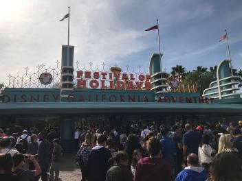 California Adventure entrance