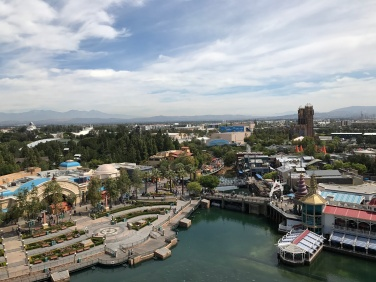 Overlooking California Adventure from Mickey's Wheel