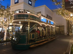 Trolley at the Grove