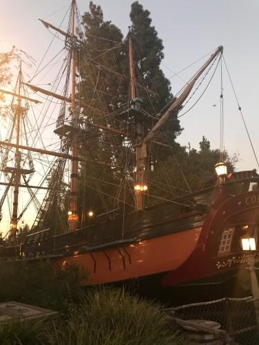 Pirate Ship at Disneyland