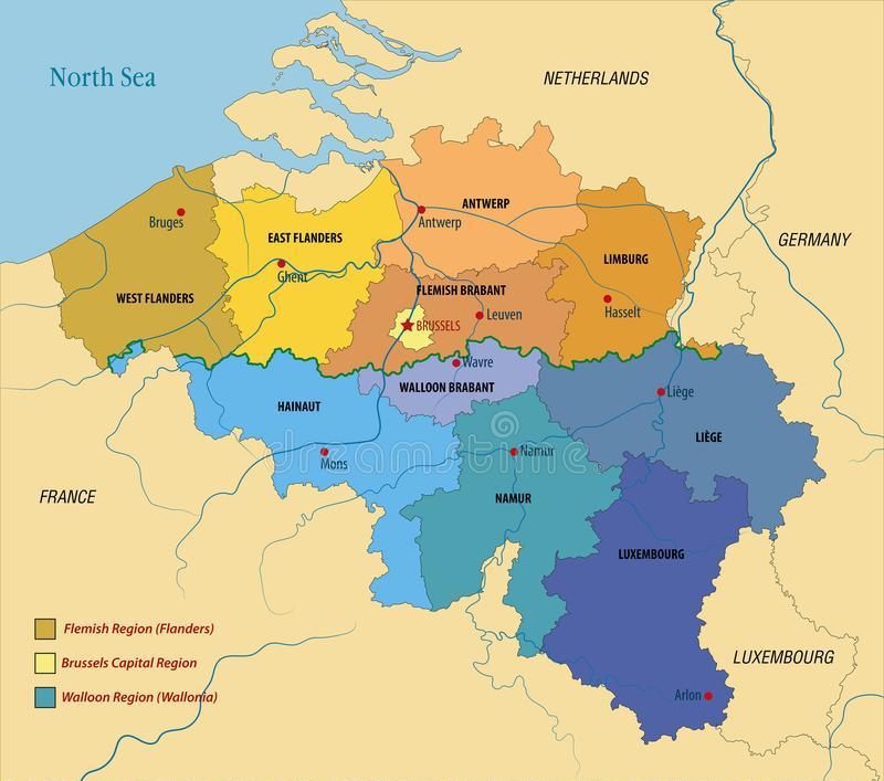 Locating Belgium