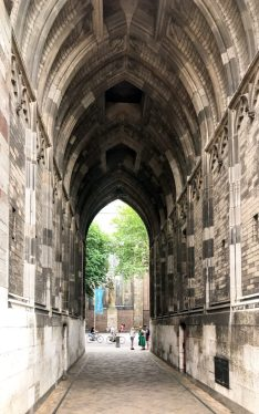 Passage through the Dom Tower
