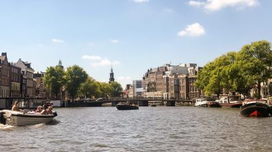 View from the Amstel River