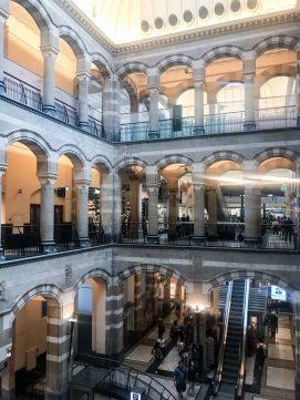 Interior of Magna Plaza