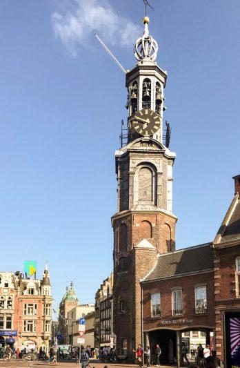 Munttoren (Munt tower) from Muntplein square