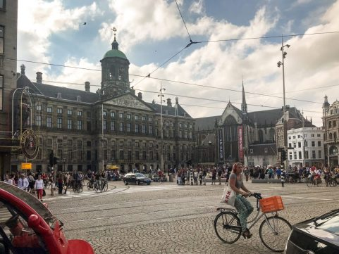 Royal Palace of Amsterdam and Dam Square