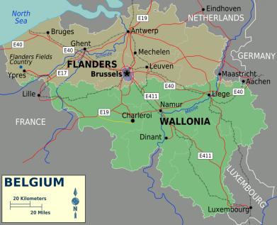 Regions of Belgium