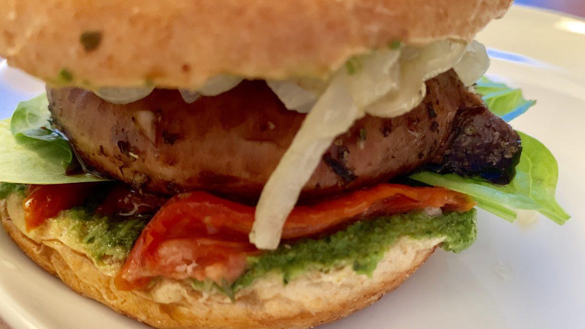 Marinated Portobello Mushroom Burgers