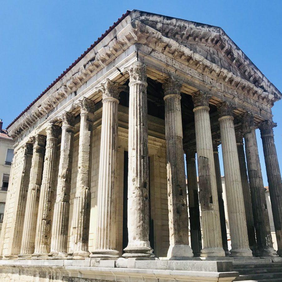 Vienne, Auvergne-Rhône-Alpes, France – Roman Temple of Augustus and Livia