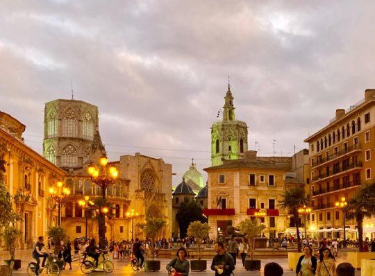 Valencia, Spain – Plaça de la Virgen