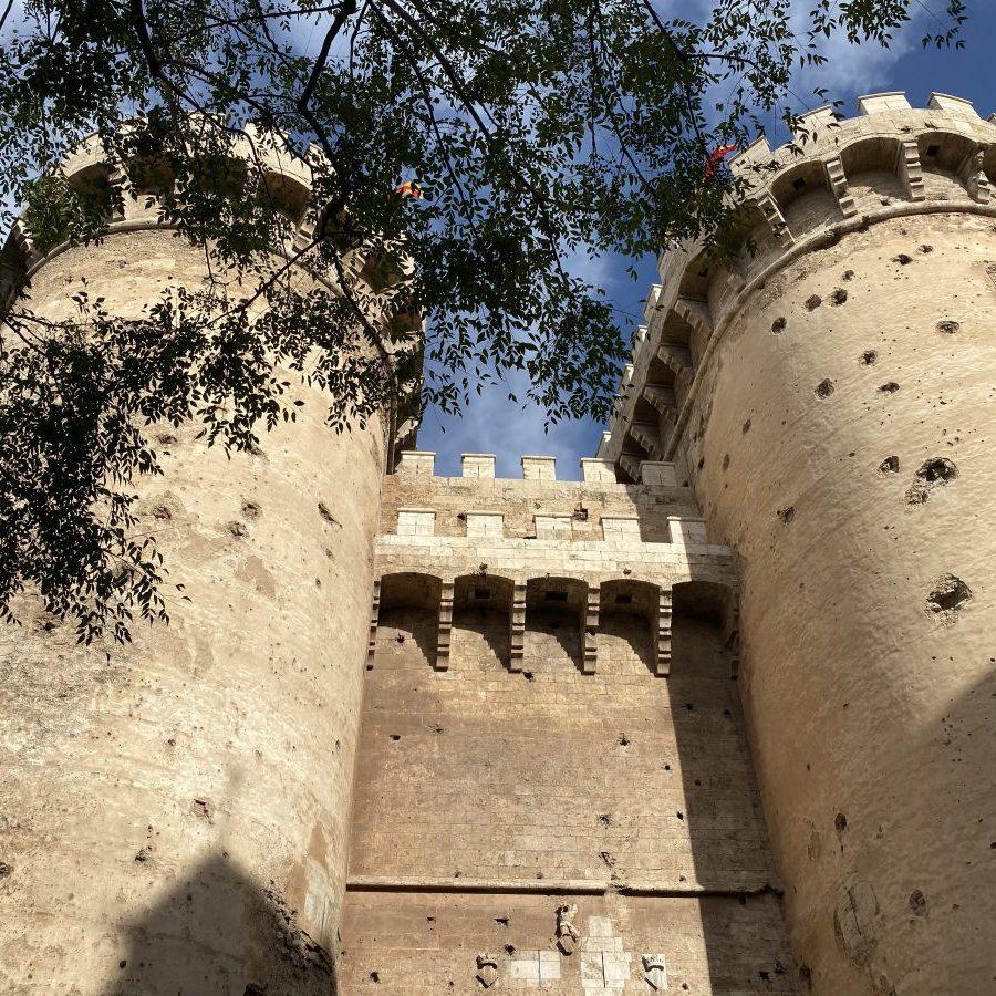 Valencia, Spain – Torres Quart top