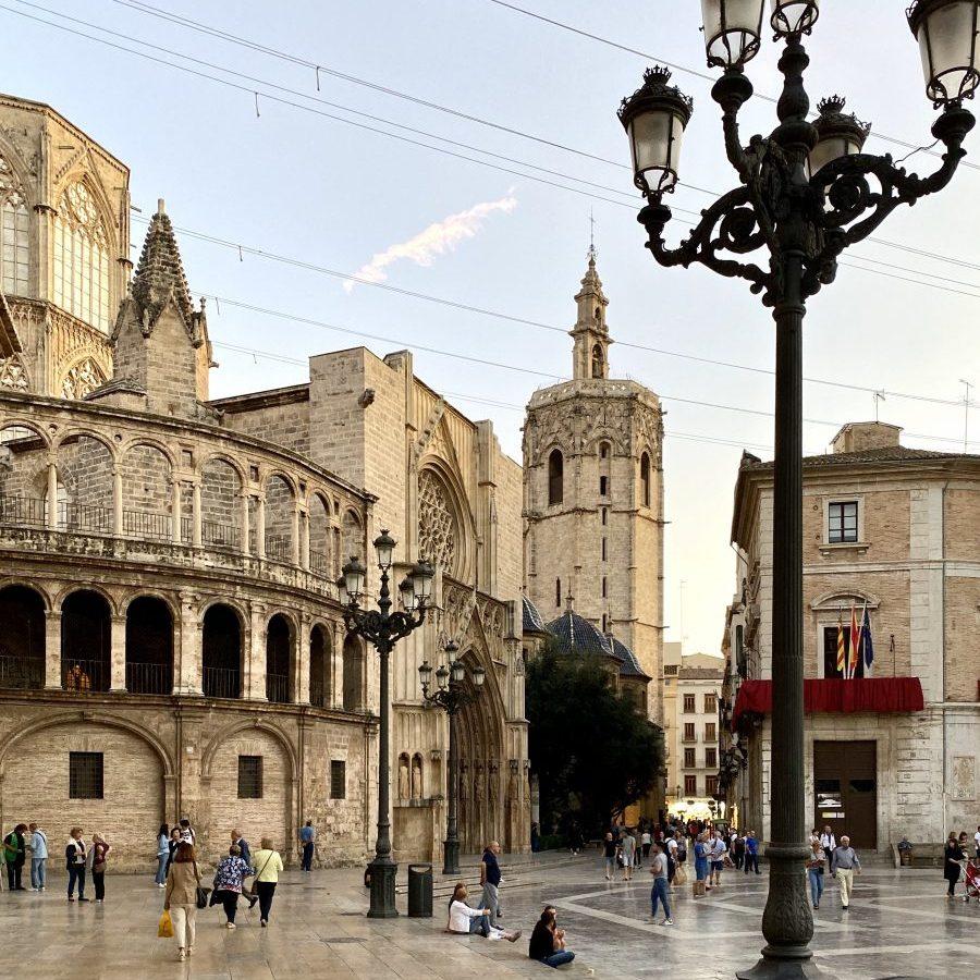 Valencia, Spain – Plaza Virgen La Seu