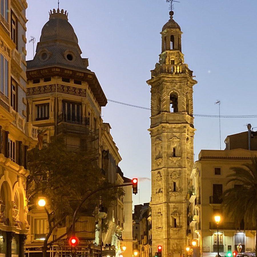 Valencia, Spain – Plaza de la Reina Santa Caterina