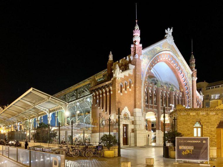 Valencia Spain Mercado de Colón