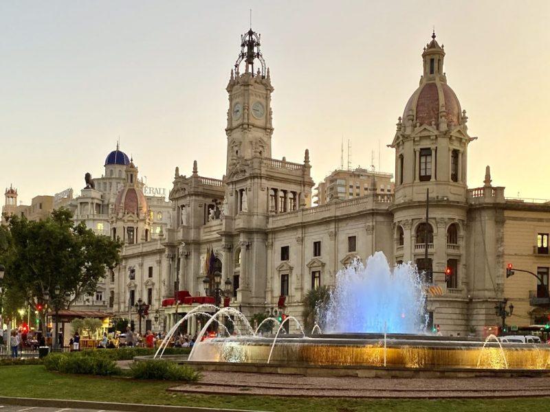 Valencia, Spain – Plaza del Ayuntamiento