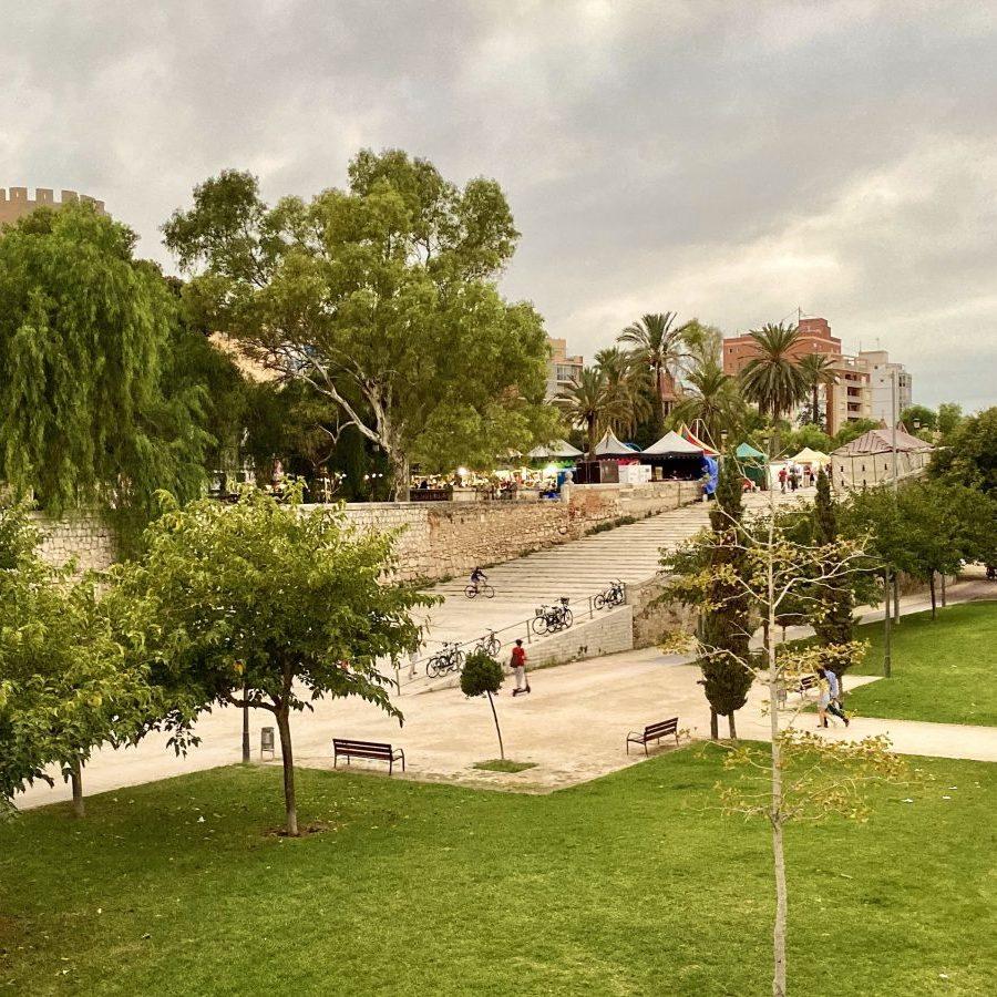 Valencia, Spain – La Turia Gardens