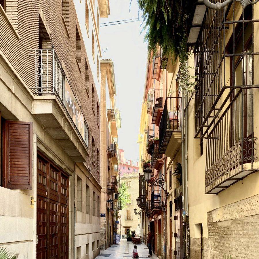 Valencia, Spain – narrow old streets