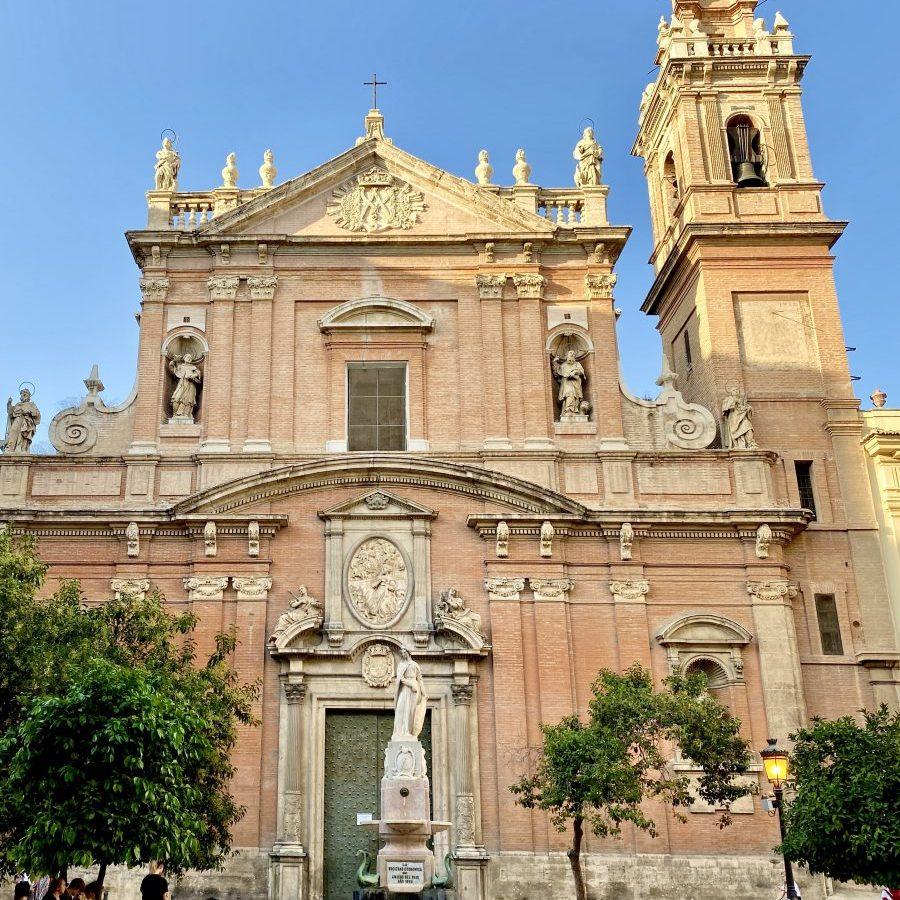 Valencia, Spain – Iglesia Sant Tomas at Plaza de San Vicente Ferrer