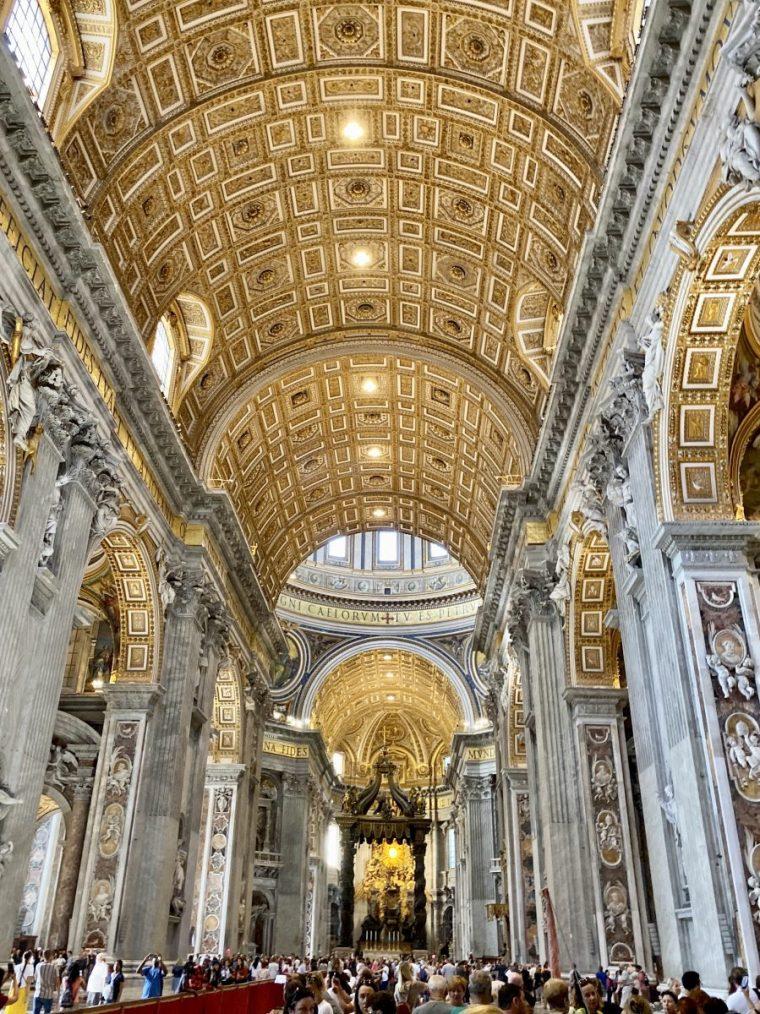 Vatican City - St Peter's Basilica nave