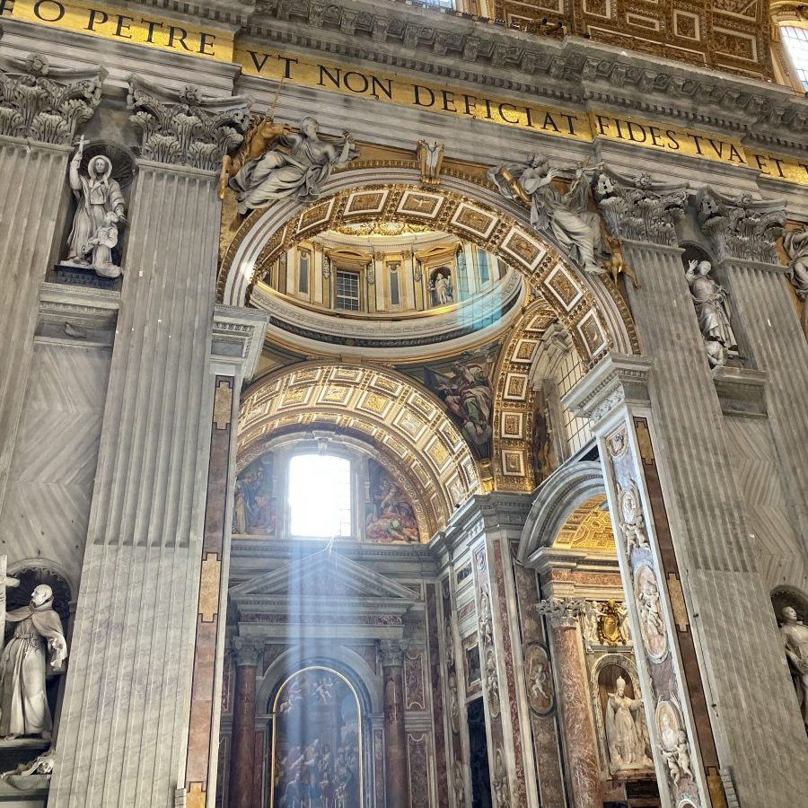 Vatican City - St Peter's Basilica Clementine Chapel