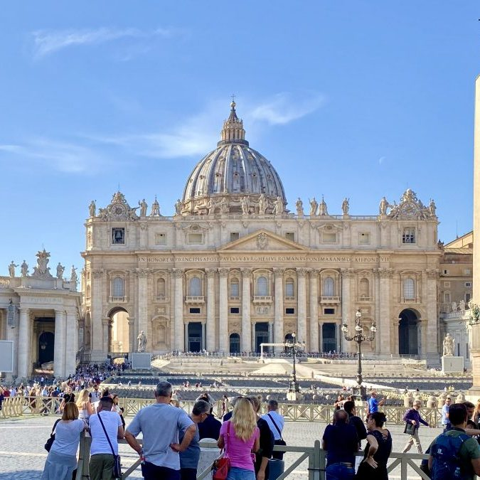Vatican City - St Peter's Basilica and Square