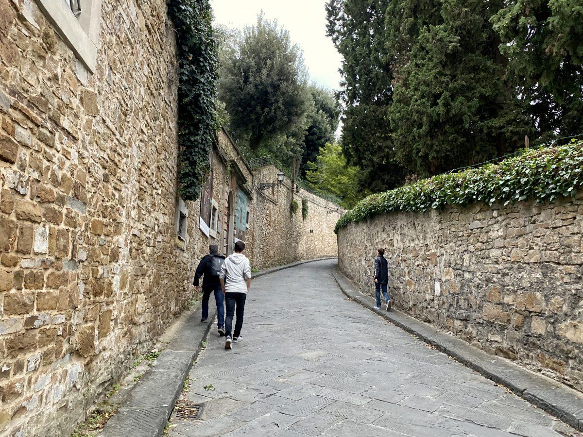 Florence, Italy – via Costa S Giorgio to Forte di Belvedere