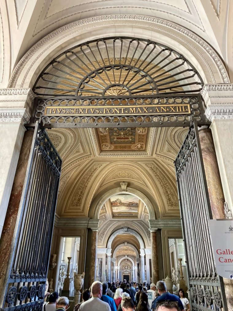 Vatican City – museum hall