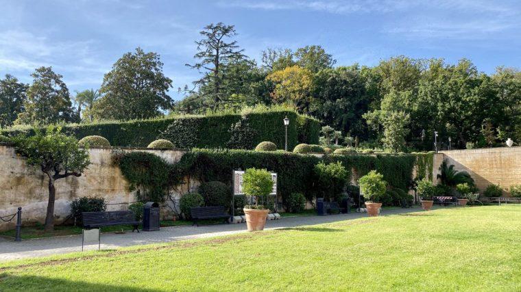Vatican City – Giardino Quadrato garden