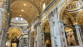 Vatican City – St Peter's Basilica nave