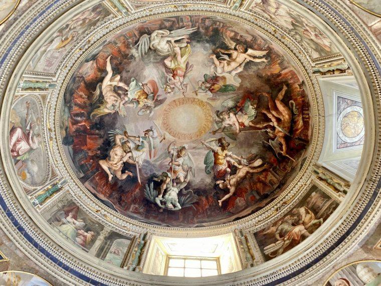 Vatican City – Appartamento di San Pio V cupola