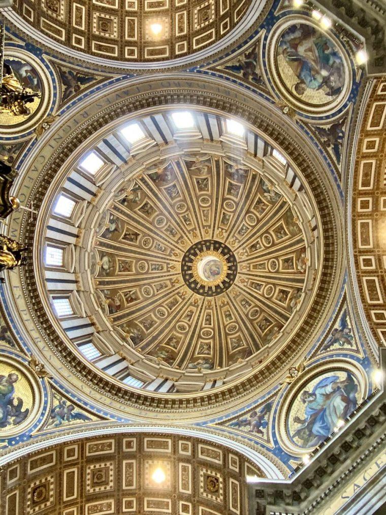 Vatican City – St Peter's Basilica transept dome