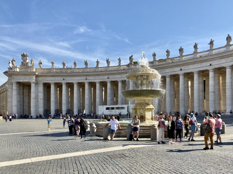 Vatican City – St Peter's Square Maderno Fountain