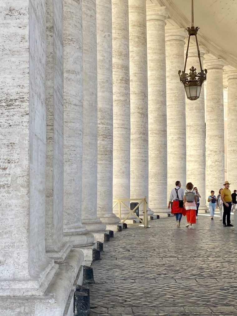 Vatican City – St Peter's Square colonnade walkway