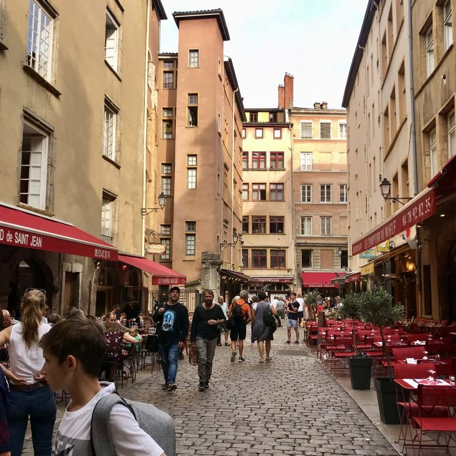 Lyon, France – Place Neuve Saint-Jean
