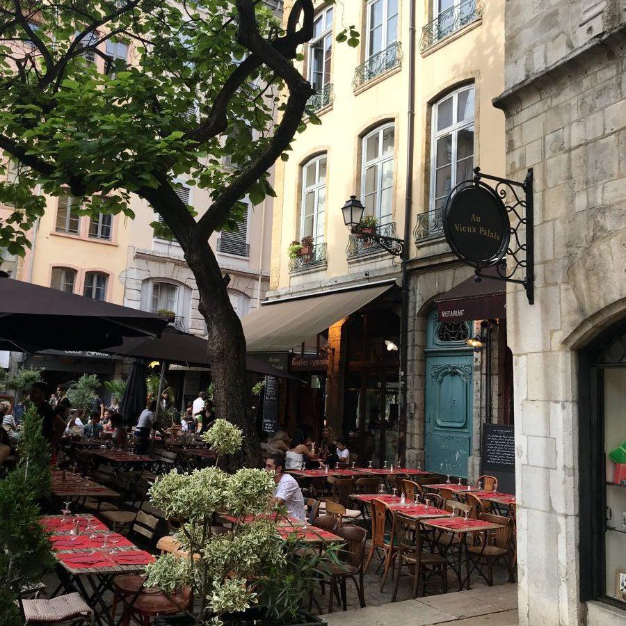 Lyon, France – Restaurant La Grange