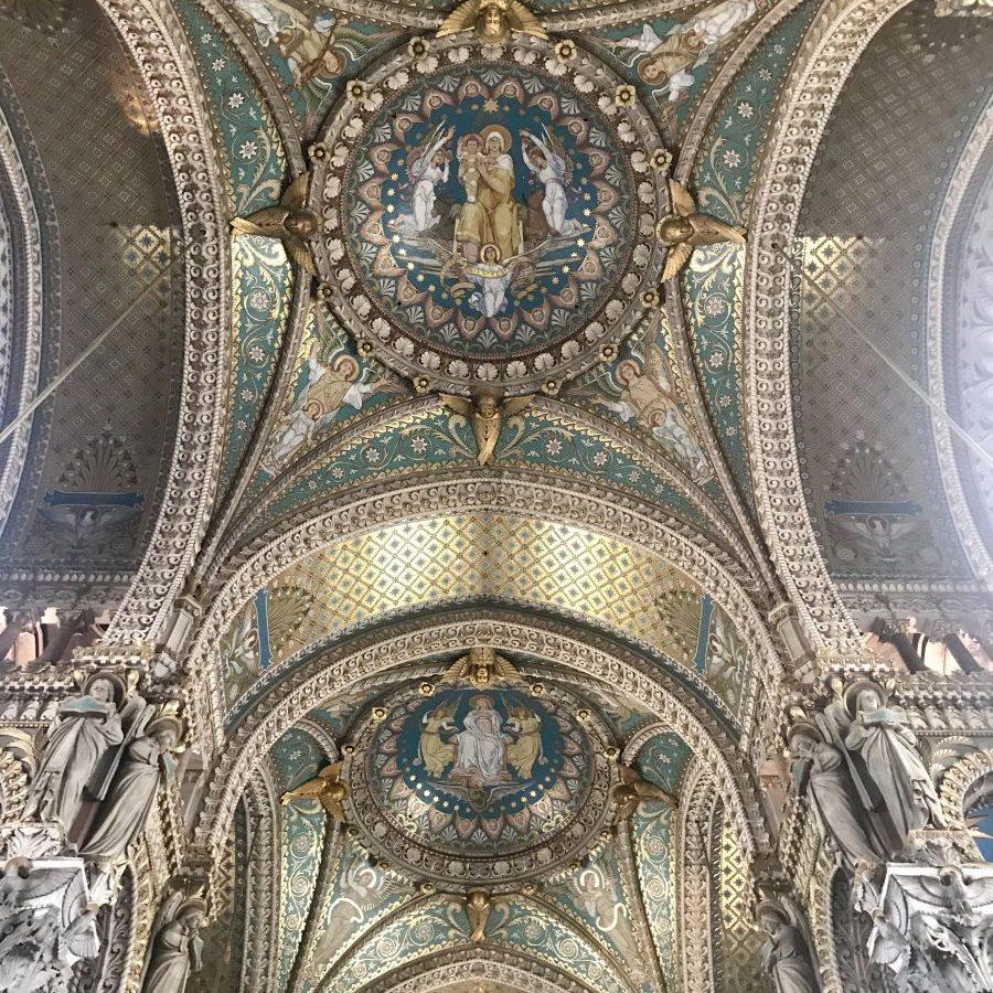 Lyon, France – Basilique Notre Dame de Fourvière