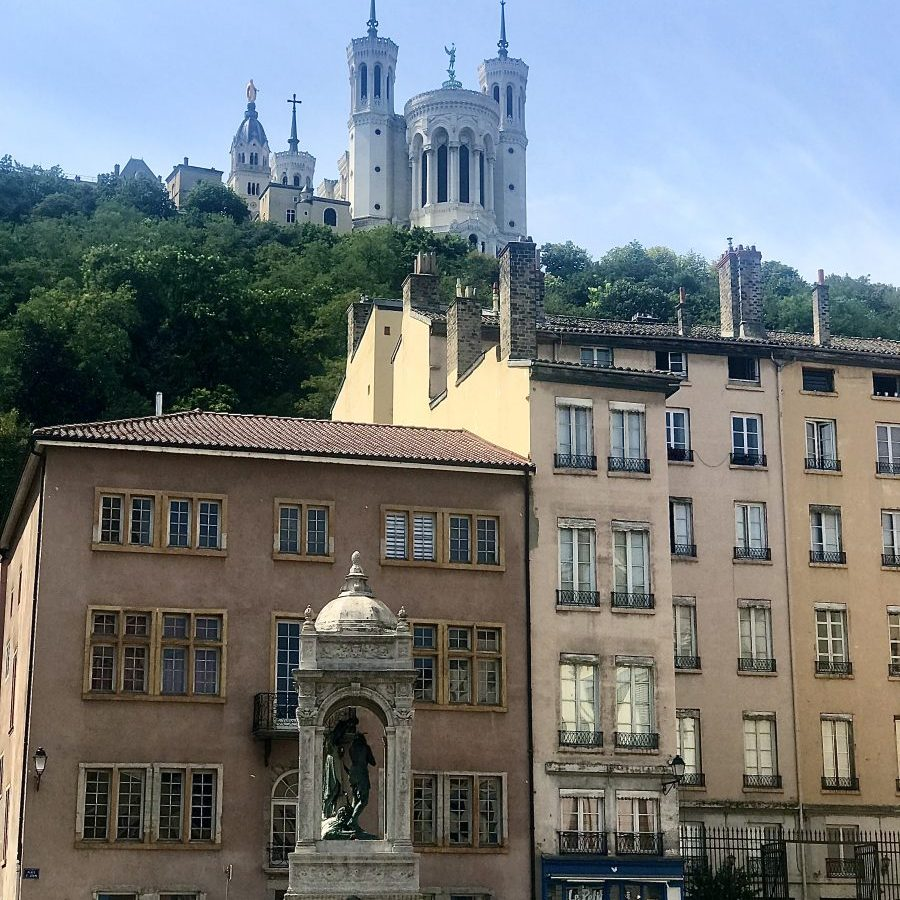 Lyon, France – Place Saint-Jean