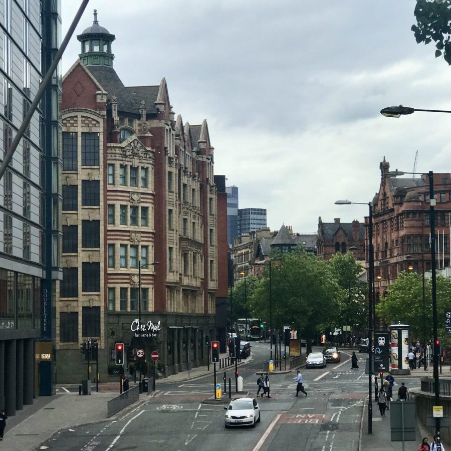 Manchester, England – City Center