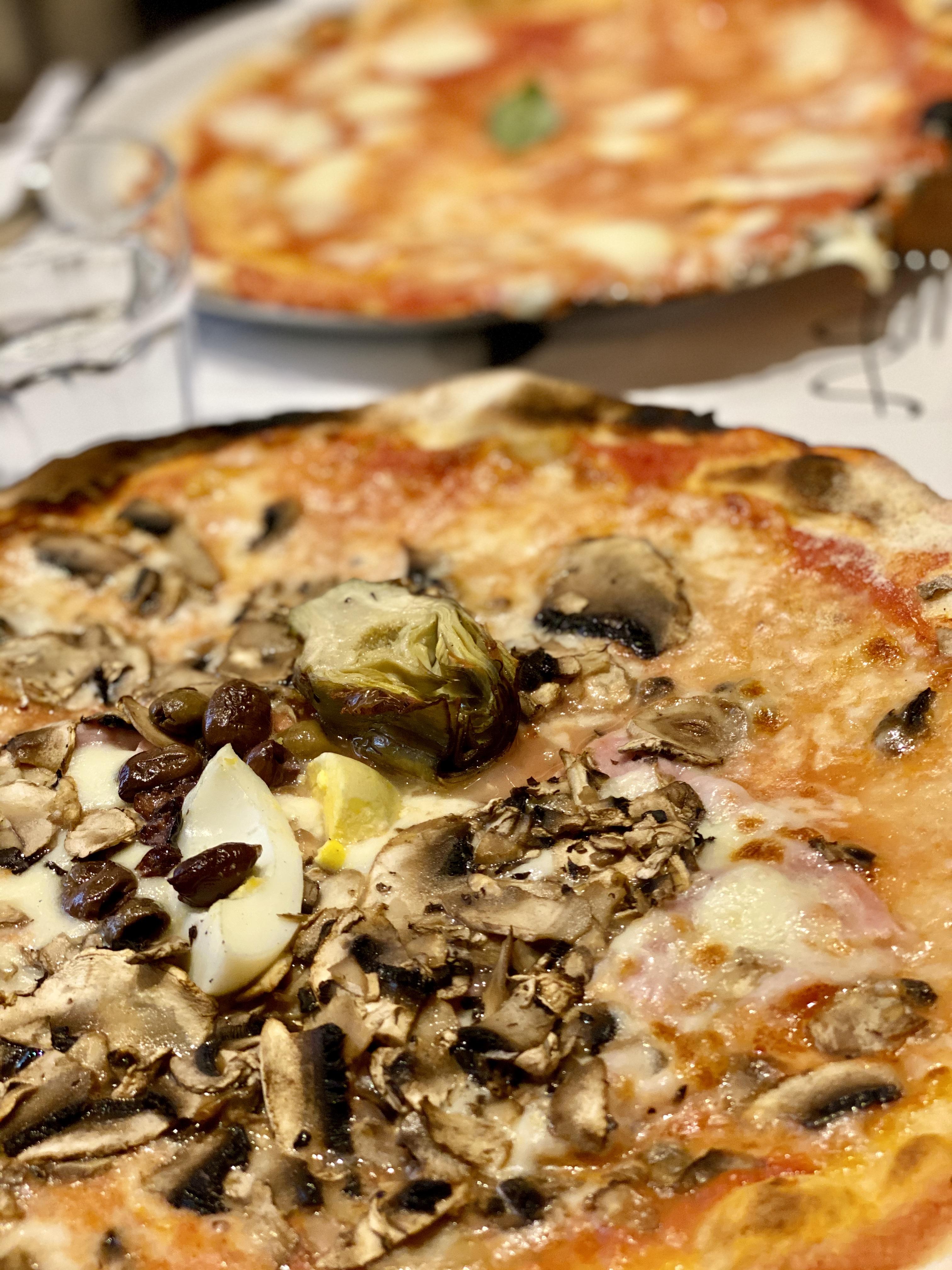 pizza at Emma