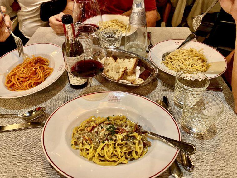 pasta at Felice