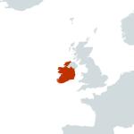 Ireland-world map